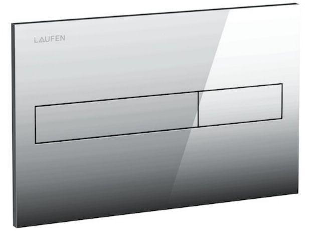 LAUFEN Podomít. systém LIS TW1 SET s chrómovým tlačidlom + WC REA Ivo Rimless + SEDADLO (H8946630000001CR IV1)