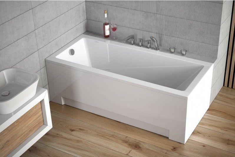 HOPA - Obdĺžniková vaňa TERME - Nožičky k vani - Bez nožičiek, Rozmer vane - 150 × 70 cm OLVTER15