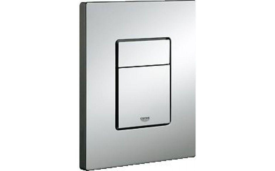 Rapid SL pre závesné WC 38528SET s chrómovou doskou + WC REA Carlo Flat Mini Rimlesss + SEDADLO (38772001 CF1)