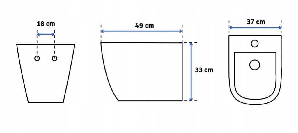 + WC REA Carlo Flat Mini Rimlesss + SEDADLO (S97-062 SQCR CF1)