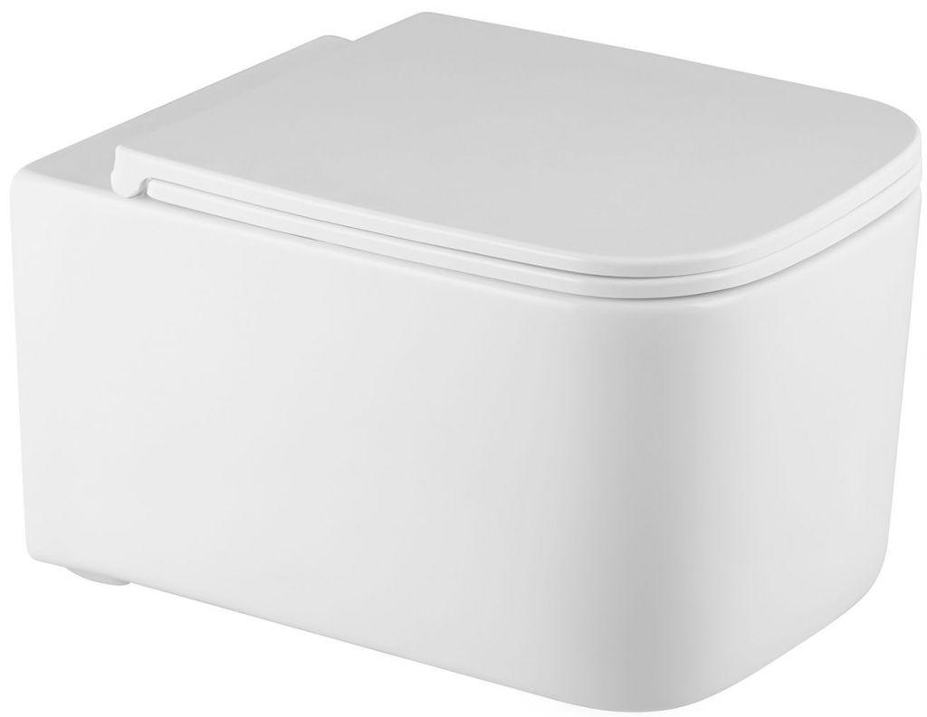ALCAPLAST Sádromodul - predstenový inštalačný systém bez tlačidla + WC REA Tino Rimlesss + SEDADLO (AM101/1120 X TR1)