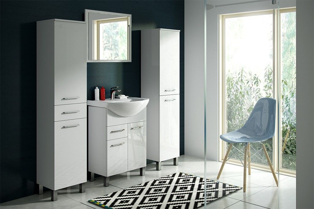 HOPA - Skrinka s umývadlom RINO 45/55/65 - Šírka skriniek - preč - 65 cm OLNRINO265 + OLKE6065