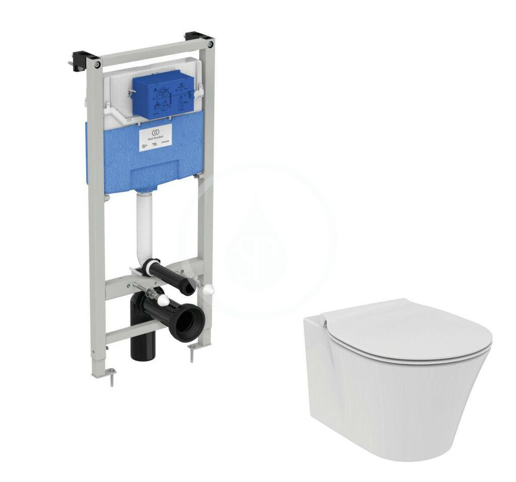 IDEAL STANDARD - ProSys Set predstenovej inštalácie ProSys, klozetu a dosky Connect Air, Aquablade, SoftClose R040001