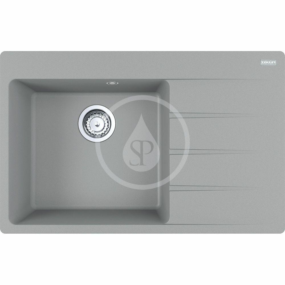 FRANKE FRANKE - Centro Fragranitový drez CNG 611-78 TL/2, 780x500 mm, sivý kameň 114.0637.516