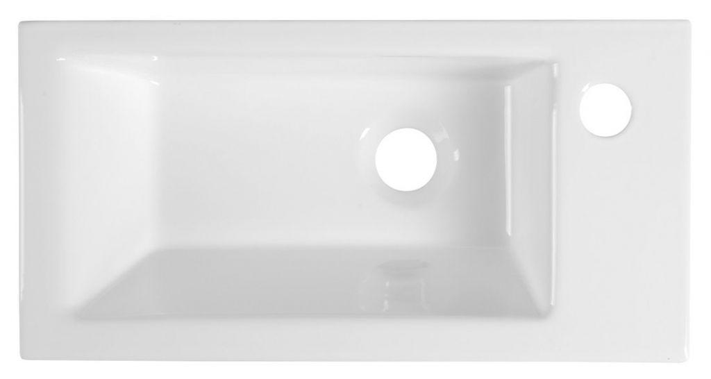 AQUALINE - ZUNO 50 nábytkové umývadlo 50x25cm (9050)