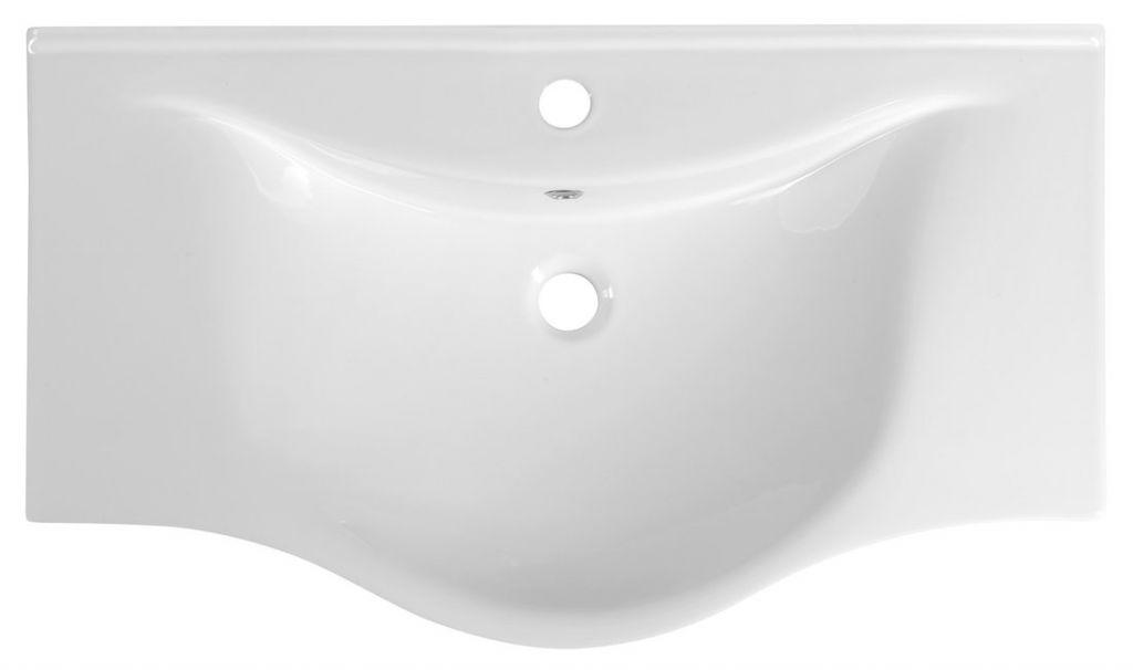 AQUALINE - ZARA nábytkové umývadlo 79,5x46cm (10080)
