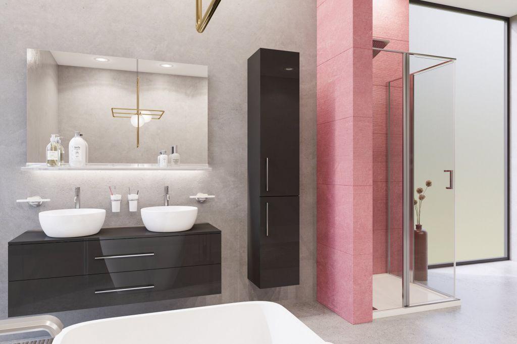 Aquatek - YES A4 90 Štvorcový sprchovací kút s dvoma otváracími dverami, výplň sklo - grape (YESA490-19)