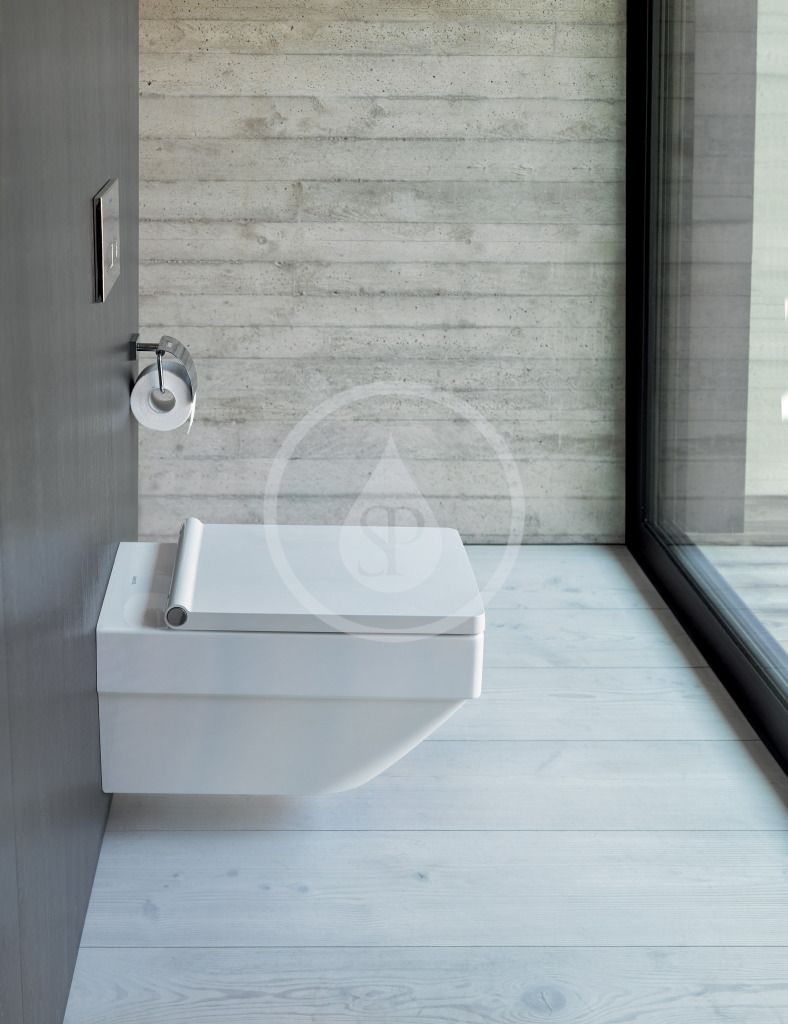 DURAVIT - Vero Air Závesné WC, Rimless, biela (2525090000)