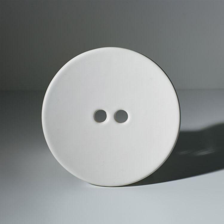 KERASAN - Keramická krytka odpadu pre umývadlá Deco, biela (486001)