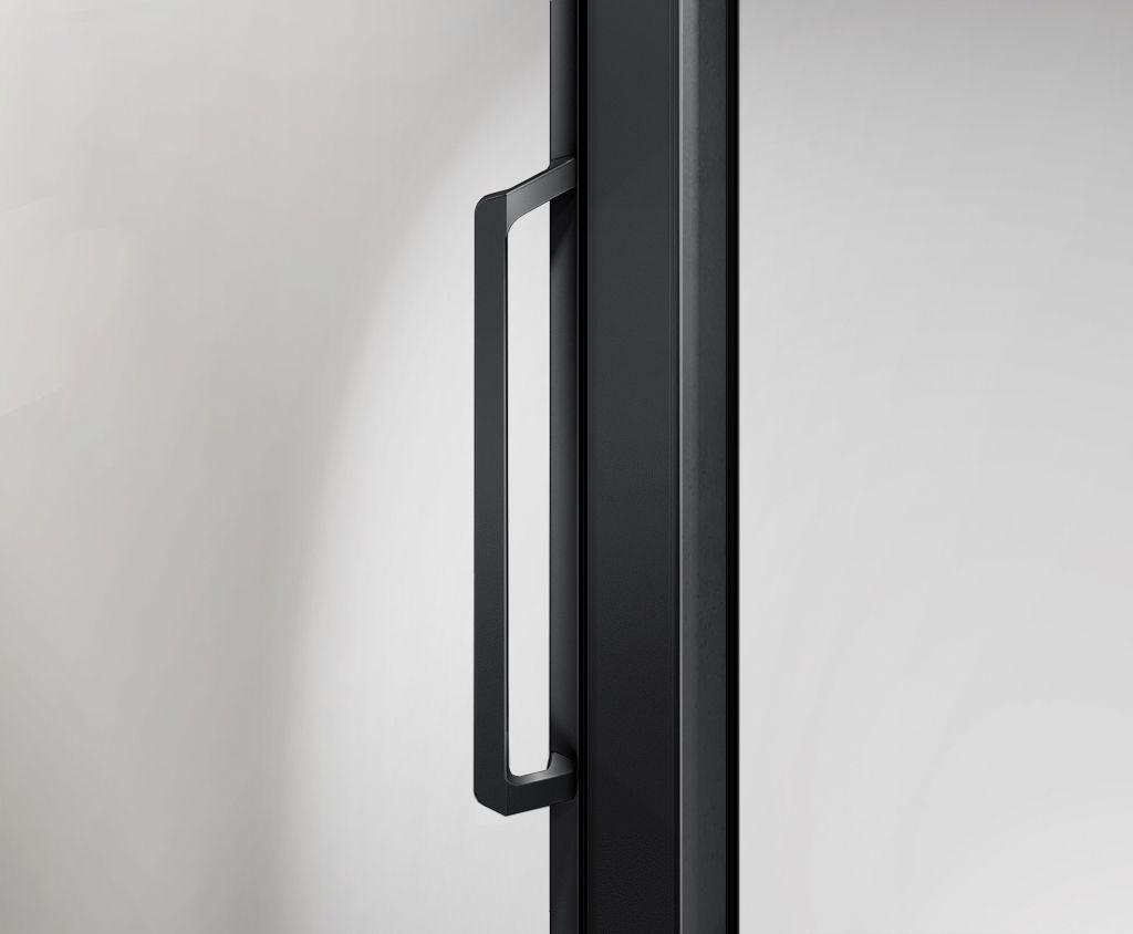 H K - Posuvné sprchové dvere NERO B2 130cm L / P variant (SE-NEROB2130)