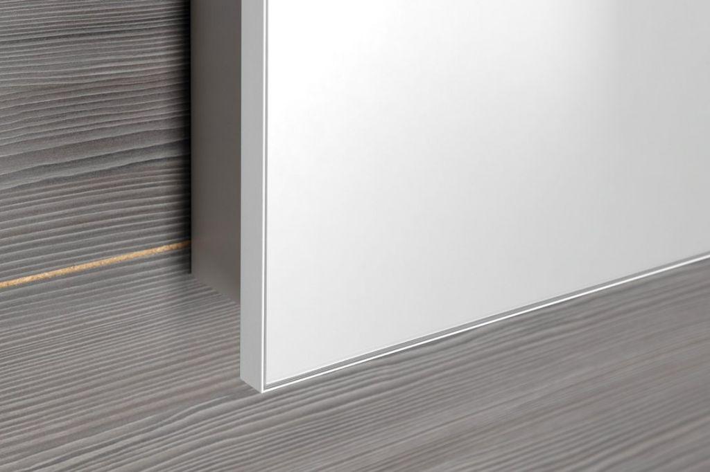 SAPHO - GRETA galérka s LED osvetlením, 80x70x14cm, biela matná (GT080-0031)