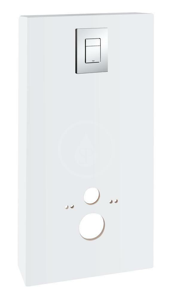 GROHE - Solido Sanitárny modul pre WC s tlačidlom Skate Cosmopolitan, biela/chróm 39377LS0