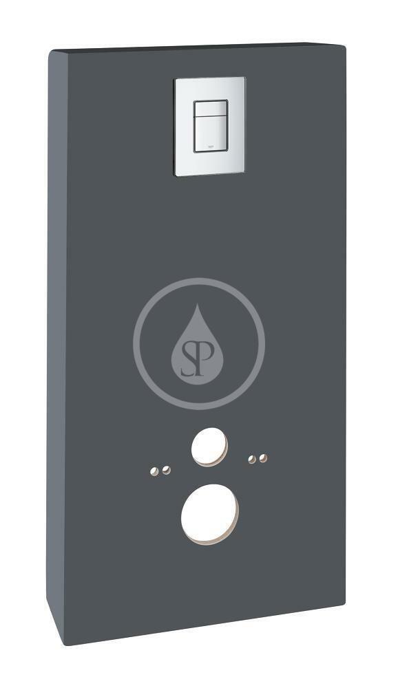 GROHE - Solido Sanitárny modul pre WC s tlačidlom Skate Cosmopolitan, sivá/chróm 39377XI0