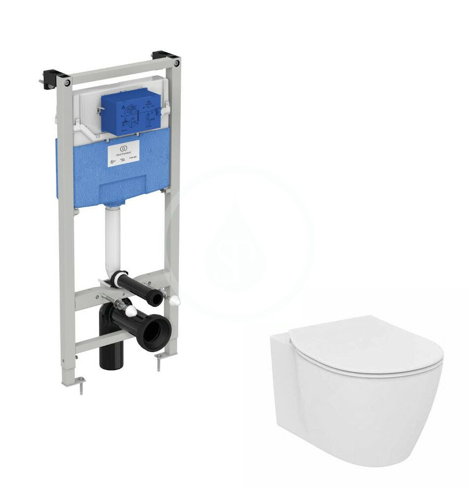IDEAL STANDARD - ProSys Set predstenovej inštalácie ProSys, klozetu a dosky Connect, Aquablade, SoftClose R039201