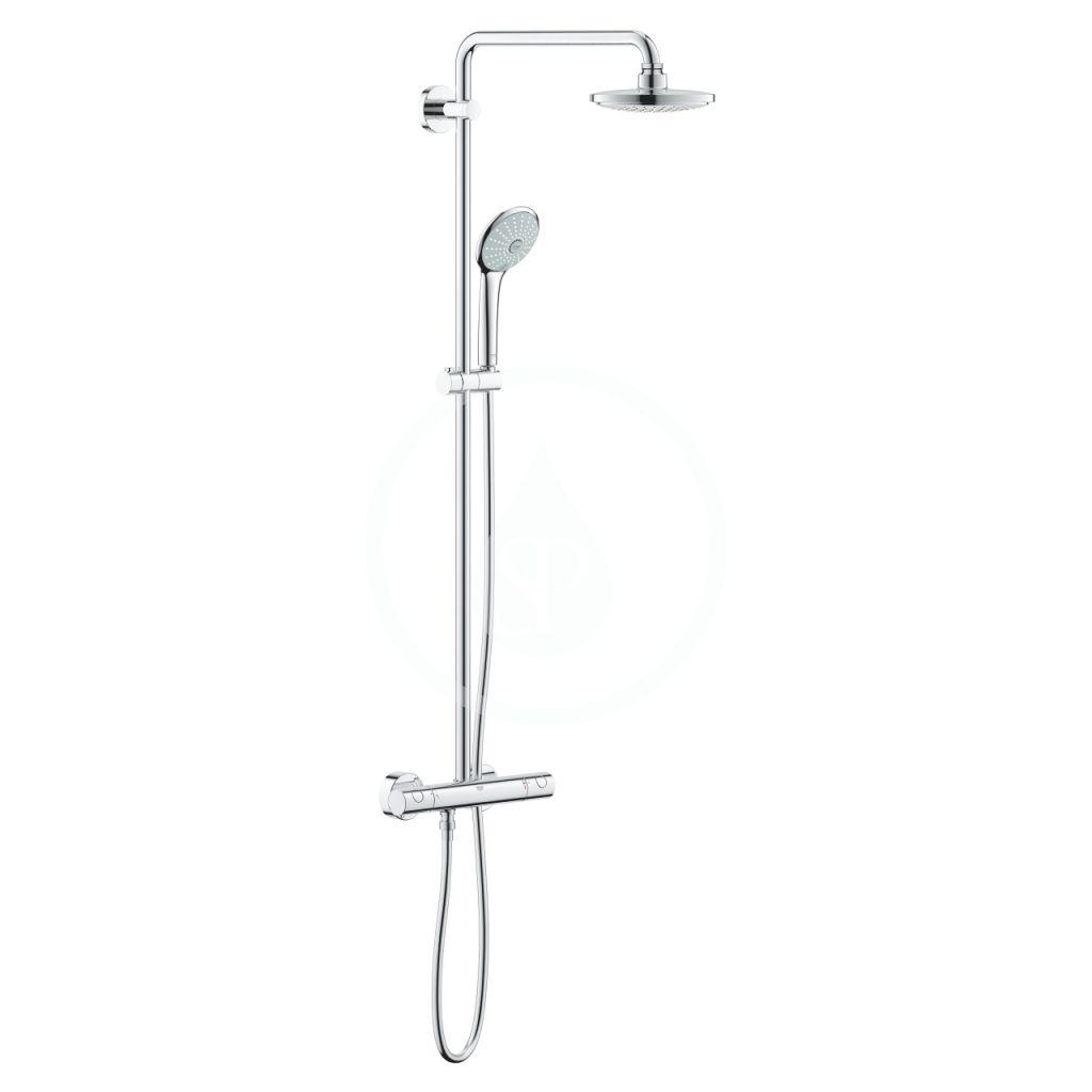 GROHE - Euphoria Sprchový systém, 180 mm, chróm 27296001