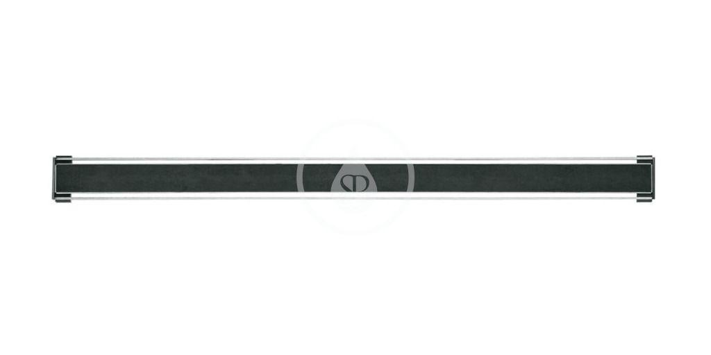 I-Drain - Tile Rošt z nehrdzavejúcej ocele na sprchový žľab, na vloženie dlažby, dĺžka 1100 mm IDRO1100Y