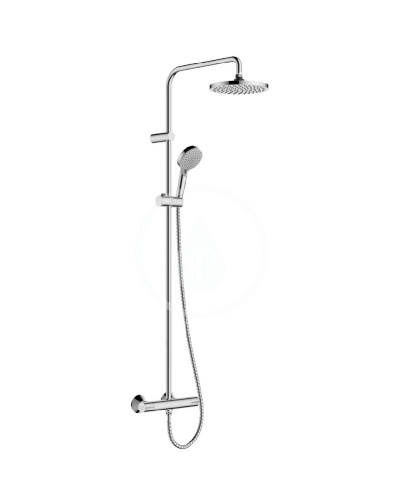 HANSGROHE HANSGROHE - Vernis Blend Sprchový set Showerpipe 200 s termostatom, Green, chróm 26318000