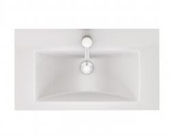 CERSANIT - Konglomerátové nábytkové umývadlo Zuro 80 s otvorom na batériu (K11-0115), fotografie 6/3