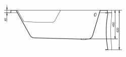 CERSANIT - VAŇA SICILIA NEW PRAVÁ 160X100 cm (S301-037), fotografie 12/11