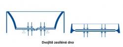 CERSANIT - VAŇA SICILIA NEW ĽAVÁ 160X100 cm (S301-036), fotografie 14/9