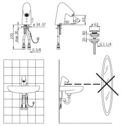 ORAS - Alessi bezd.umyv.12V (O8524F), fotografie 4/2
