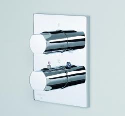 ORAS - ALESSI termostat. vanová podomítková chrom (vrchní část) (O8578)