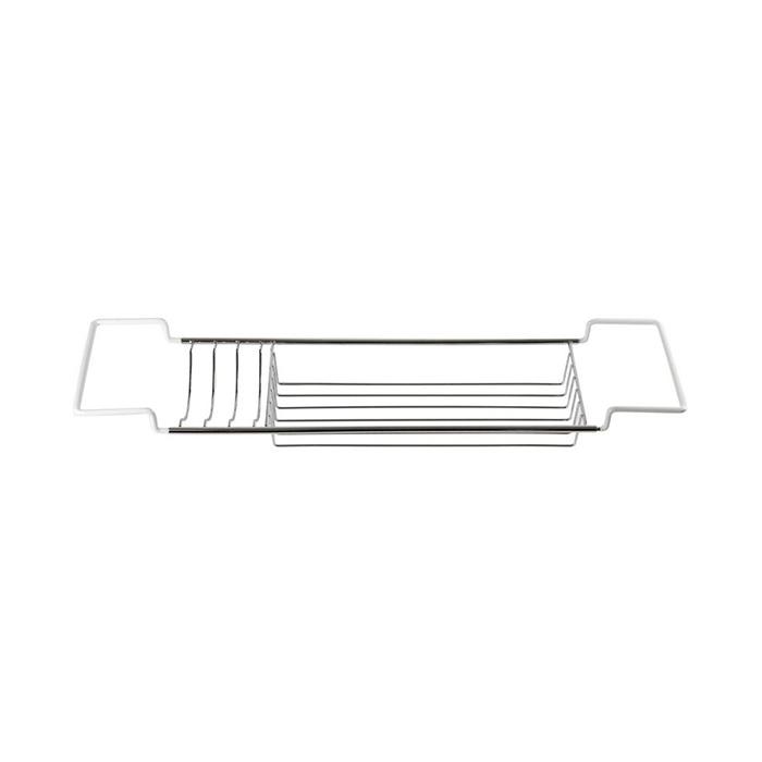 A-Interiéry - Drôtená chrómovaná polička na vaňu DP-70001 (dp_70001)