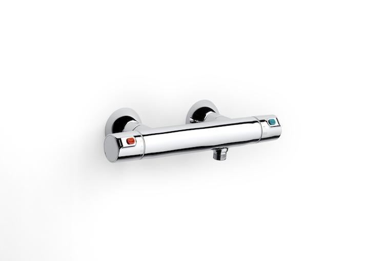 AKCE/ROCA - Sprchová termostatická batéria VICTORIA bez príslušenstva, chróm (A5A1318C00)