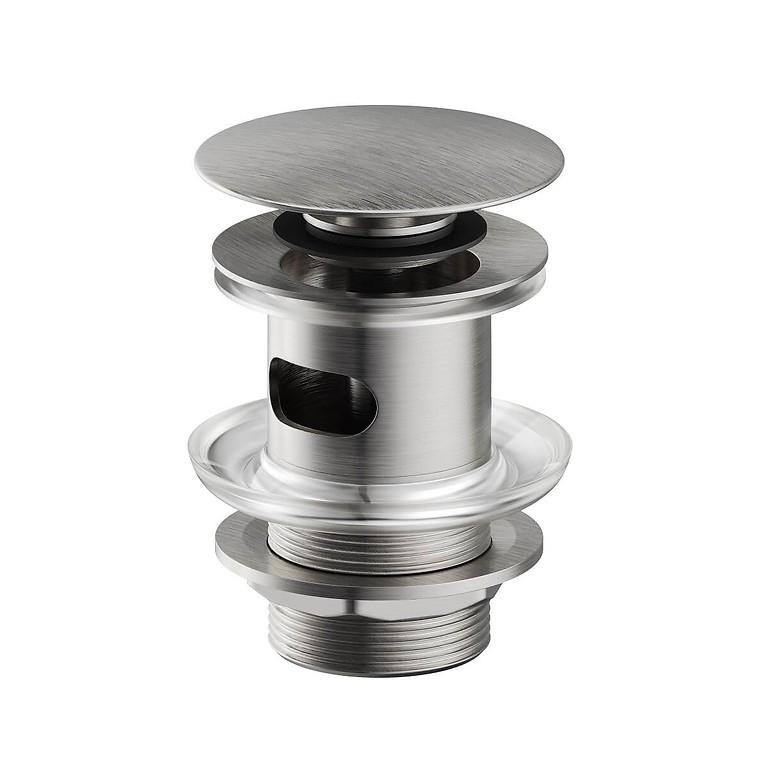 CERSANIT - Kovová zátka klik-klak pre umývadlá s prepadom, nikl (S951-281)