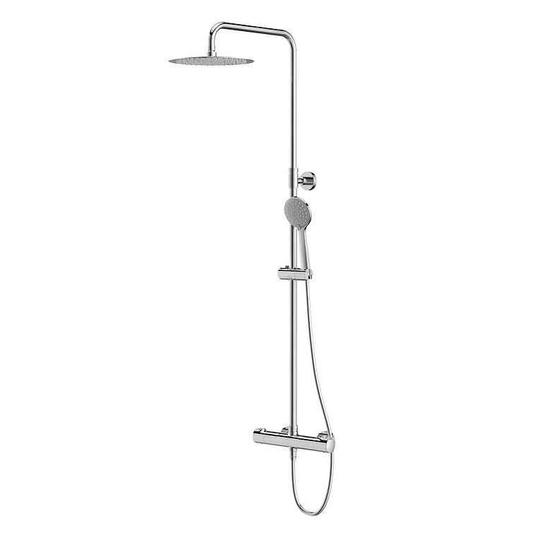 CERSANIT - Sprchový stĺp s termostatickou batériou CITY, chróm (S951-340)