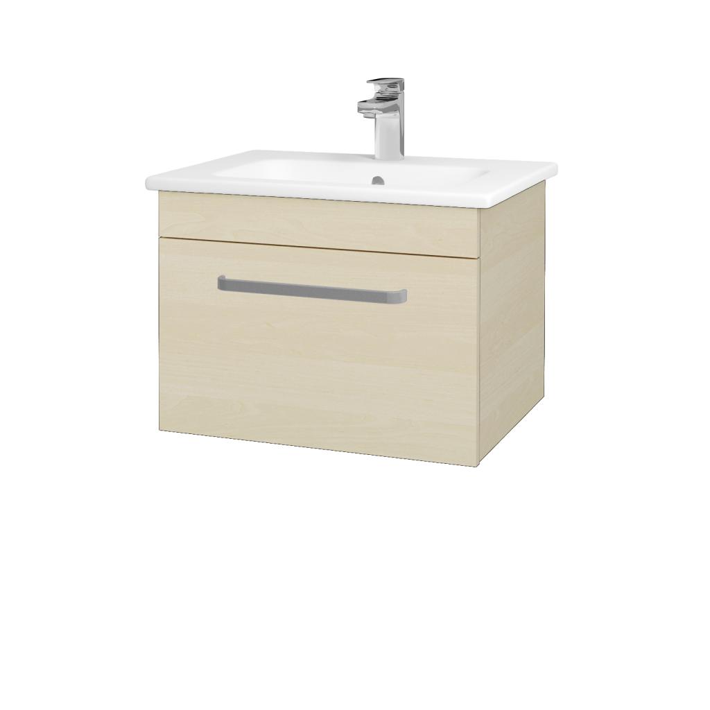 Dreja - Kúpeľňová skriňa ASTON SZZ 60 - D02 Bříza / Úchytka T01 / D02 Bříza (131241A)