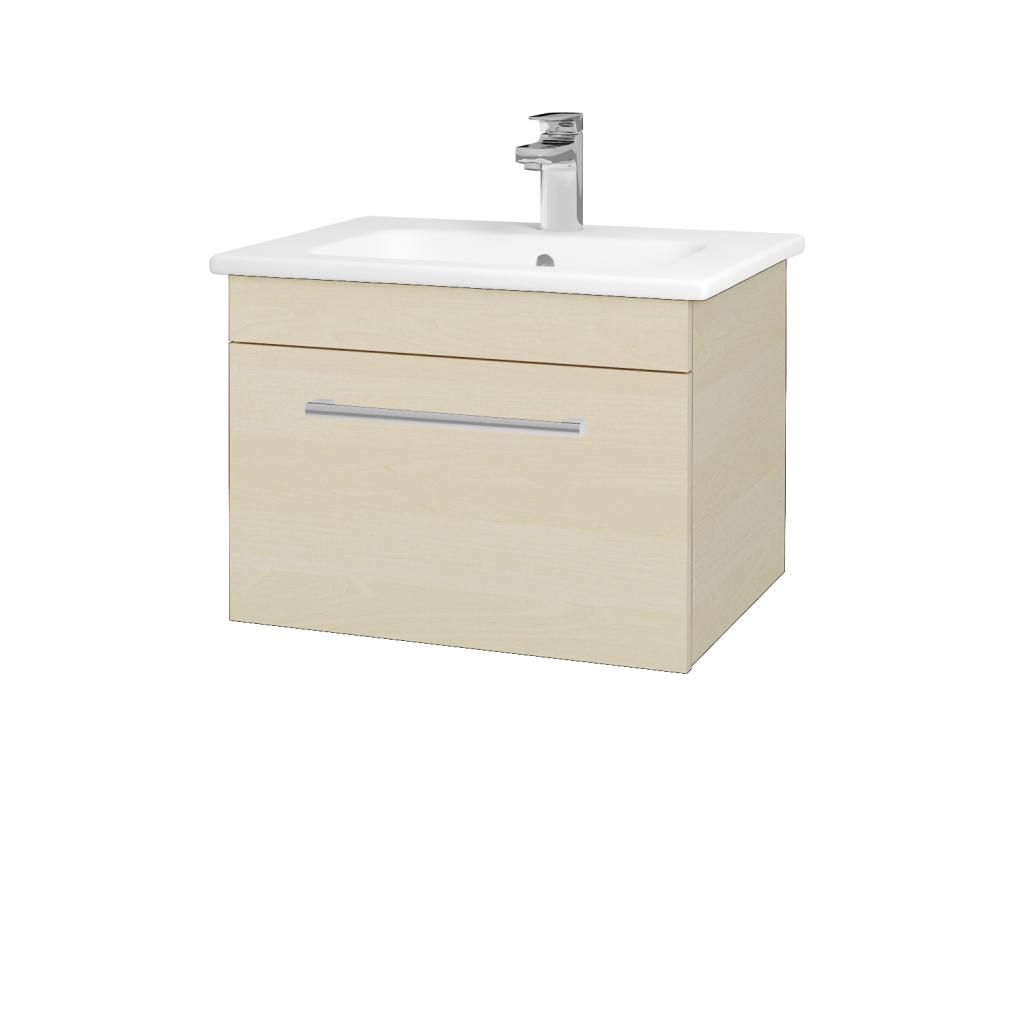 Dreja - Kúpeľňová skriňa ASTON SZZ 60 - D02 Bříza / Úchytka T03 / D02 Bříza (131241C)
