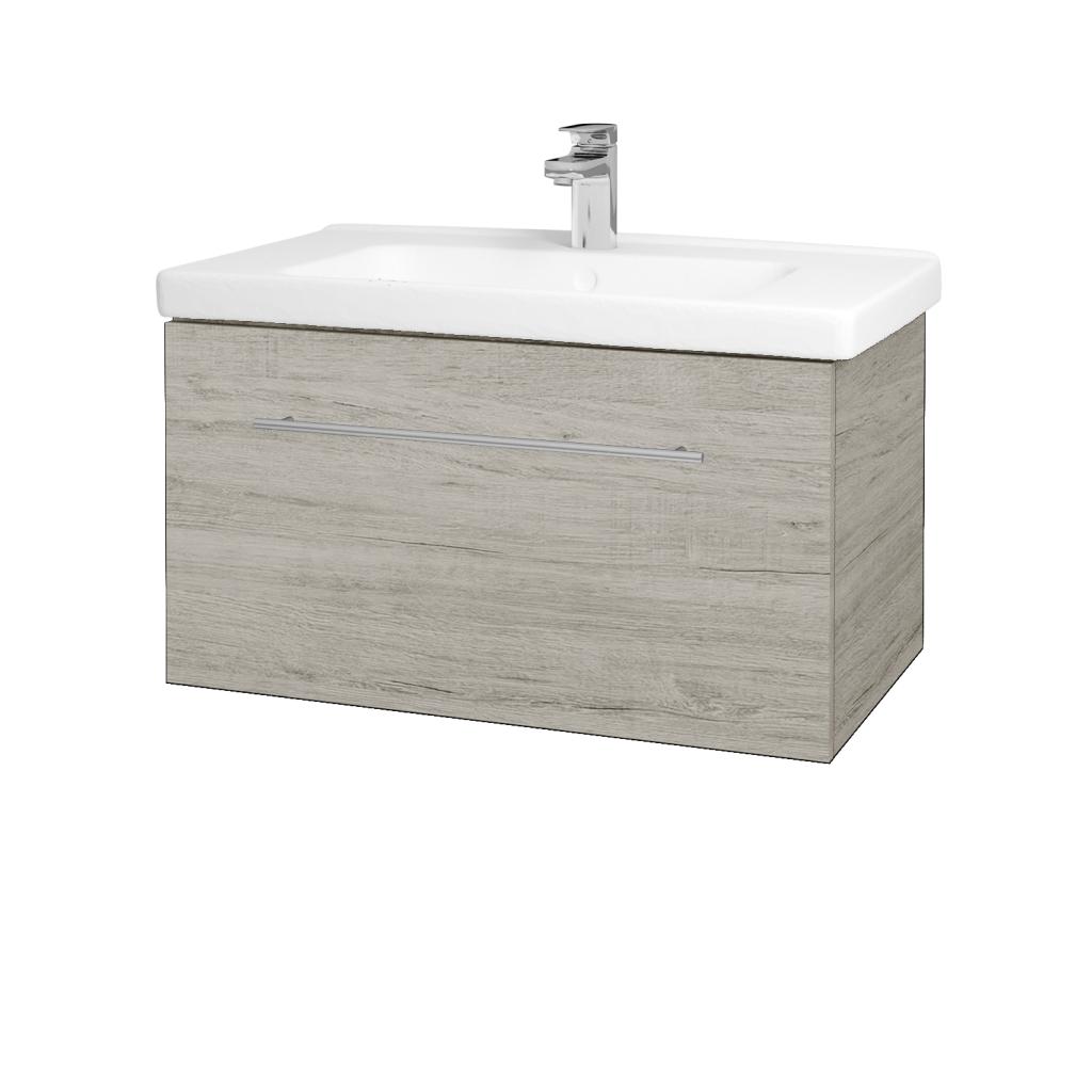 Dreja - Kúpeľňová skriňa BIG INN SZZ 80 - D05 Oregon / Úchytka T02 / D05 Oregon (132668B)