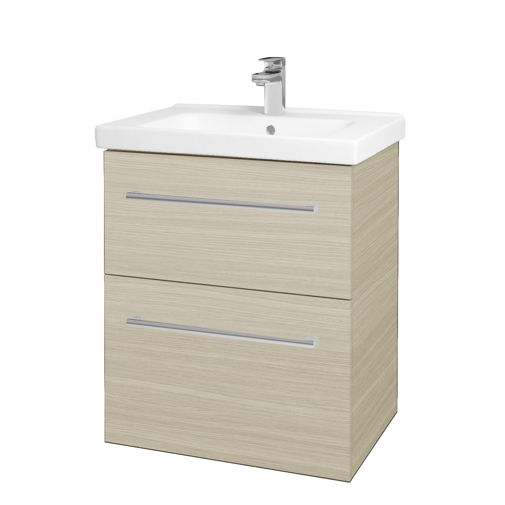 Dreja - Kúpeľňová skriňa BIG INN SZZ2 65 - D04 Dub / Úchytka T03 / D04 Dub (133016C)