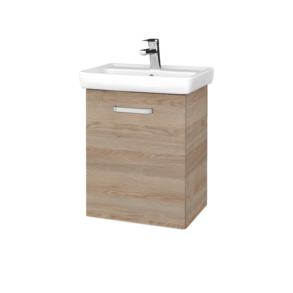 Dreja - Kúpeľňová skriňa DOOR SZD 50 - D17 Colorado / Úchytka T01 / D17 Colorado / Levé (340438A)