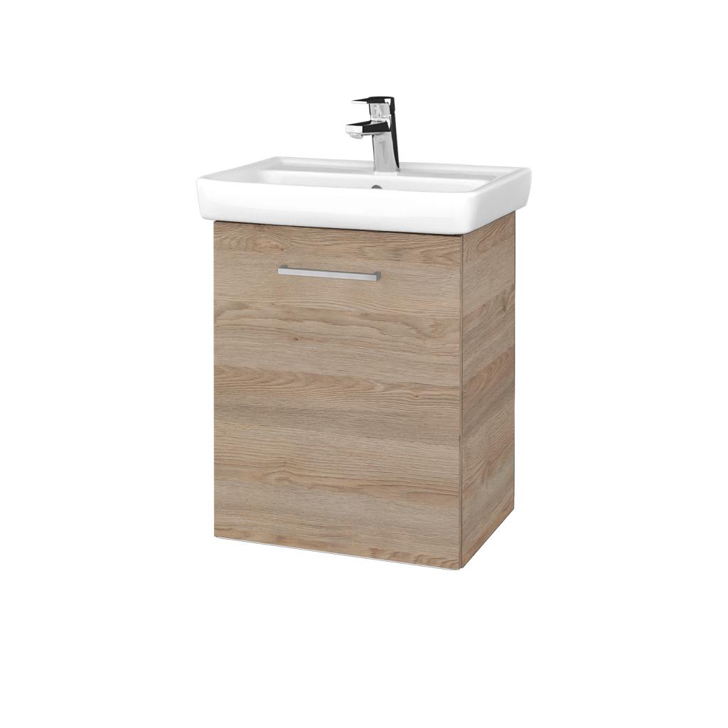 Dreja - Kúpeľňová skriňa DOOR SZD 50 - D17 Colorado / Úchytka T04 / D17 Colorado / Levé (340438E)