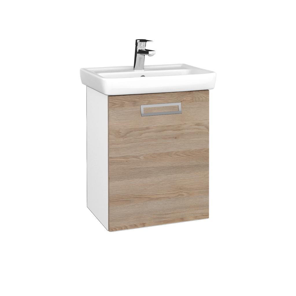 Dreja - Kúpeľňová skriňa DOOR SZD 50 - N01 Bílá lesk / Úchytka T39 / D17 Colorado / Pravé (340636GP)