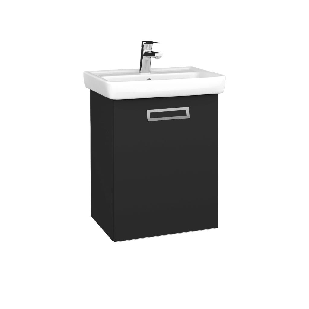 Dreja - Kúpeľňová skriňa DOOR SZD 50 - N03 Graphite / Úchytka T39 / N03 Graphite / Pravé (340476GP)