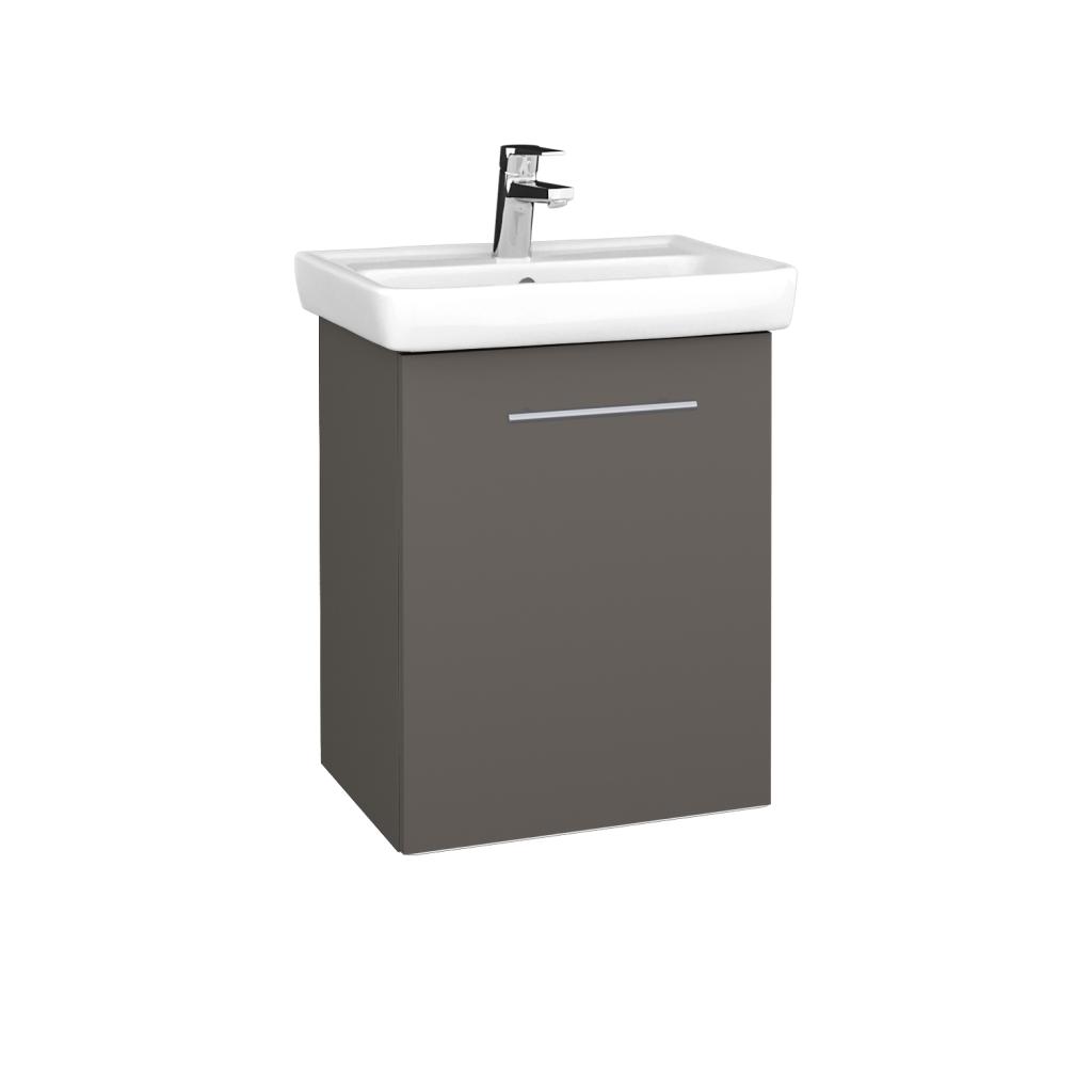 Dreja - Kúpeľňová skriňa DOOR SZD 50 - N06 Lava / Úchytka T02 / N06 Lava / Pravé (340483BP)