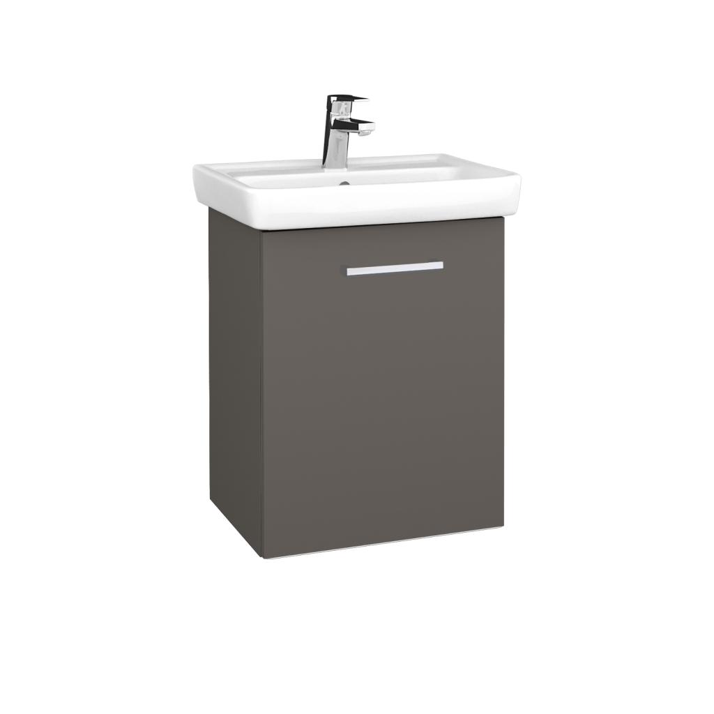 Dreja - Kúpeľňová skriňa DOOR SZD 50 - N06 Lava / Úchytka T03 / N06 Lava / Pravé (340483CP)