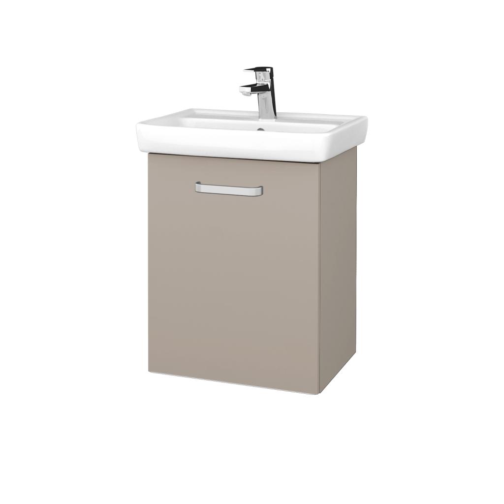 Dreja - Kúpeľňová skriňa DOOR SZD 50 - N07 Stone / Úchytka T01 / N07 Stone / Levé (340490A)