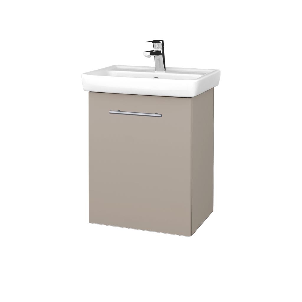 Dreja - Kúpeľňová skriňa DOOR SZD 50 - N07 Stone / Úchytka T02 / N07 Stone / Levé (340490B)