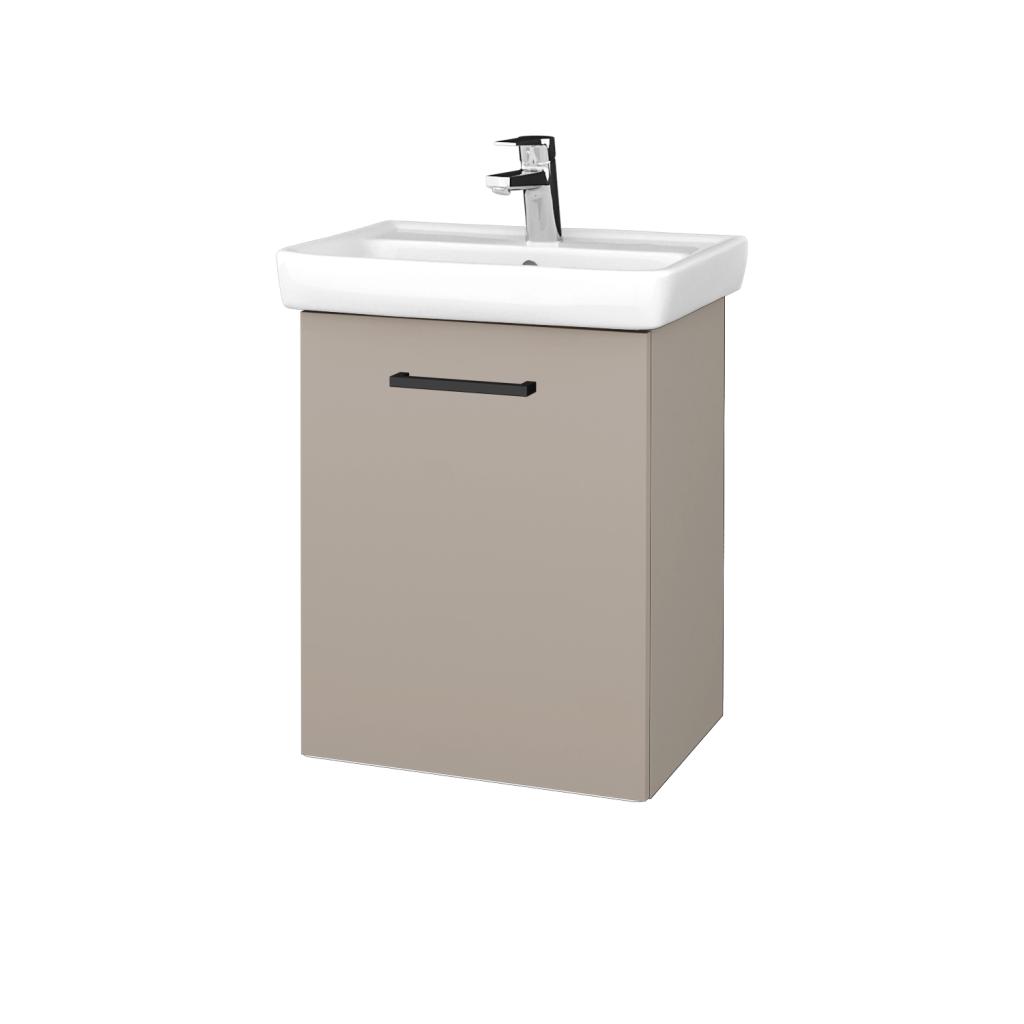 Dreja - Kúpeľňová skriňa DOOR SZD 50 - N07 Stone / Úchytka T06 / N07 Stone / Levé (340490H)