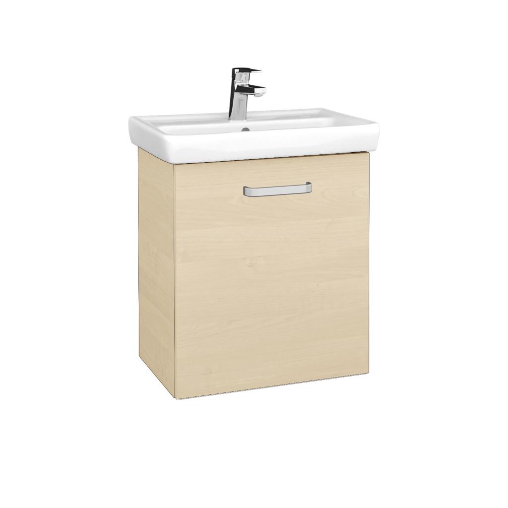 Dreja - Kúpeľňová skriňa DOOR SZD 55 - D02 Bříza / Úchytka T01 / D02 Bříza / Pravé (340728AP)