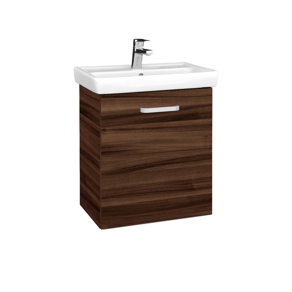 Dreja - Kúpeľňová skriňa DOOR SZD 55 - D06 Ořech / Úchytka T01 / D06 Ořech / Pravé (340766AP)