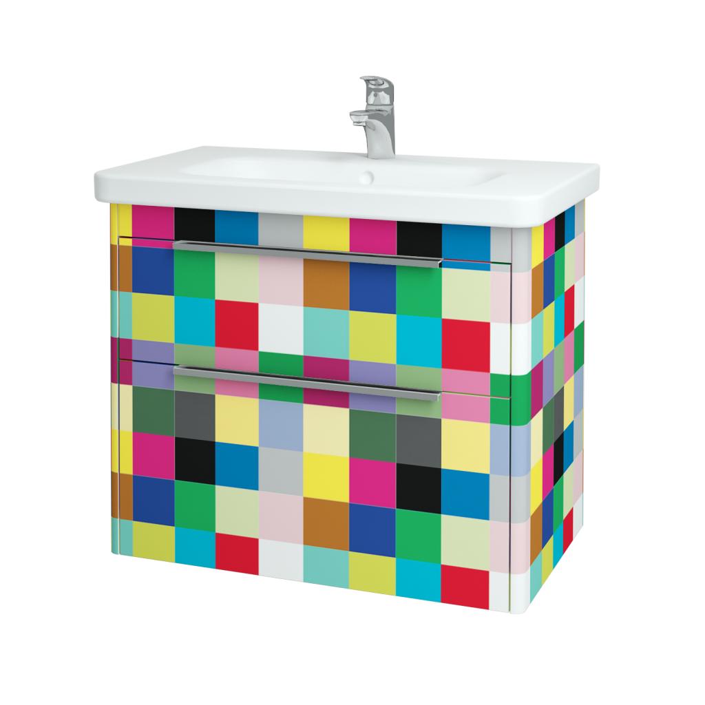 Dreja - Kúpeľňová skriňa ENZO SZZ2 80 - IND Individual / IND Individual (52570)