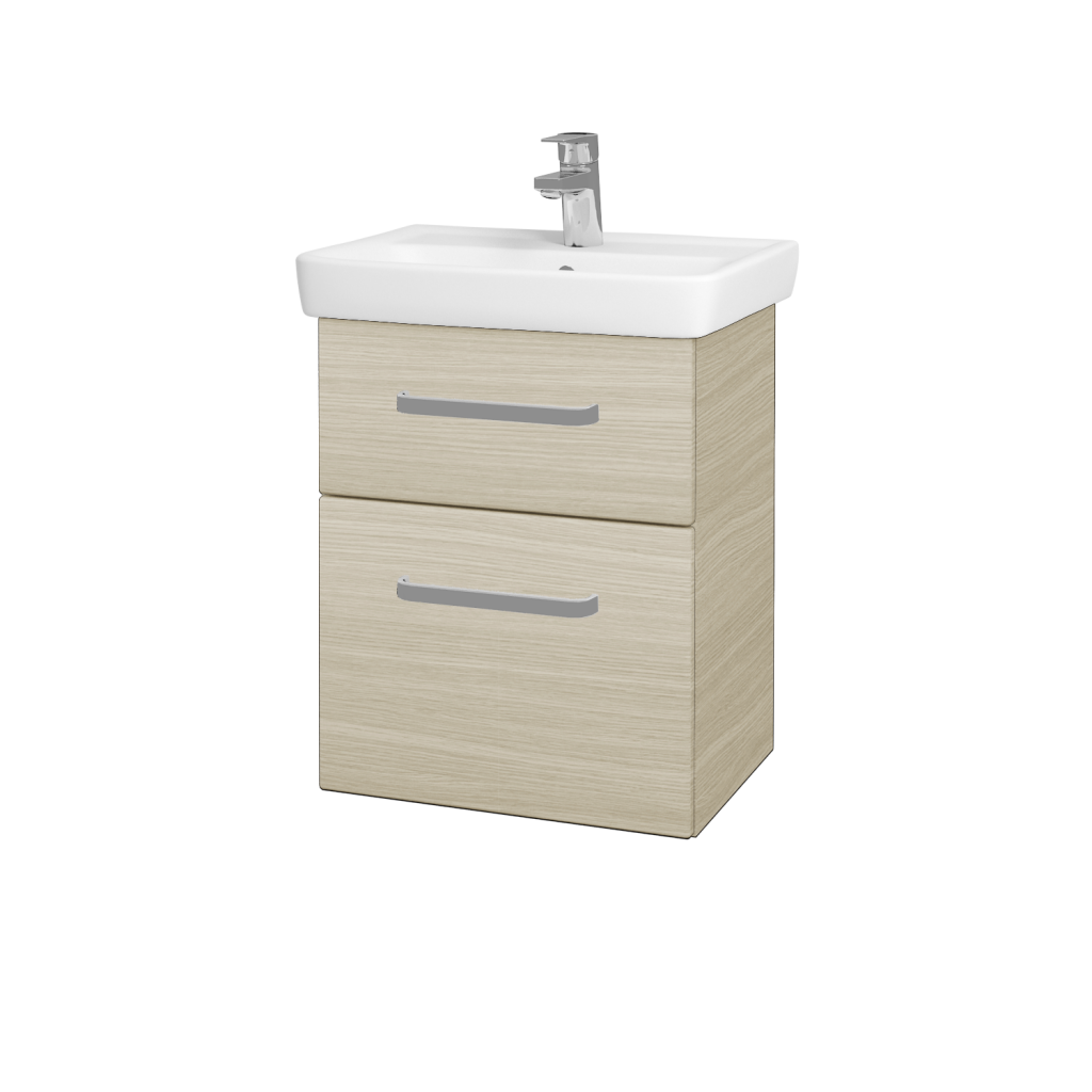 Dreja - Kúpeľňová skriňa GO SZZ2 50 - D04 Dub / Úchytka T01 / D04 Dub (28094A)