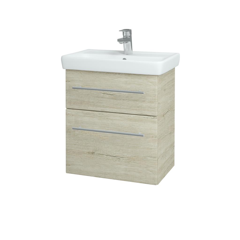 Dreja - Kúpeľňová skriňa GO SZZ2 55 - D05 Oregon / Úchytka T02 / D05 Oregon (28131B)