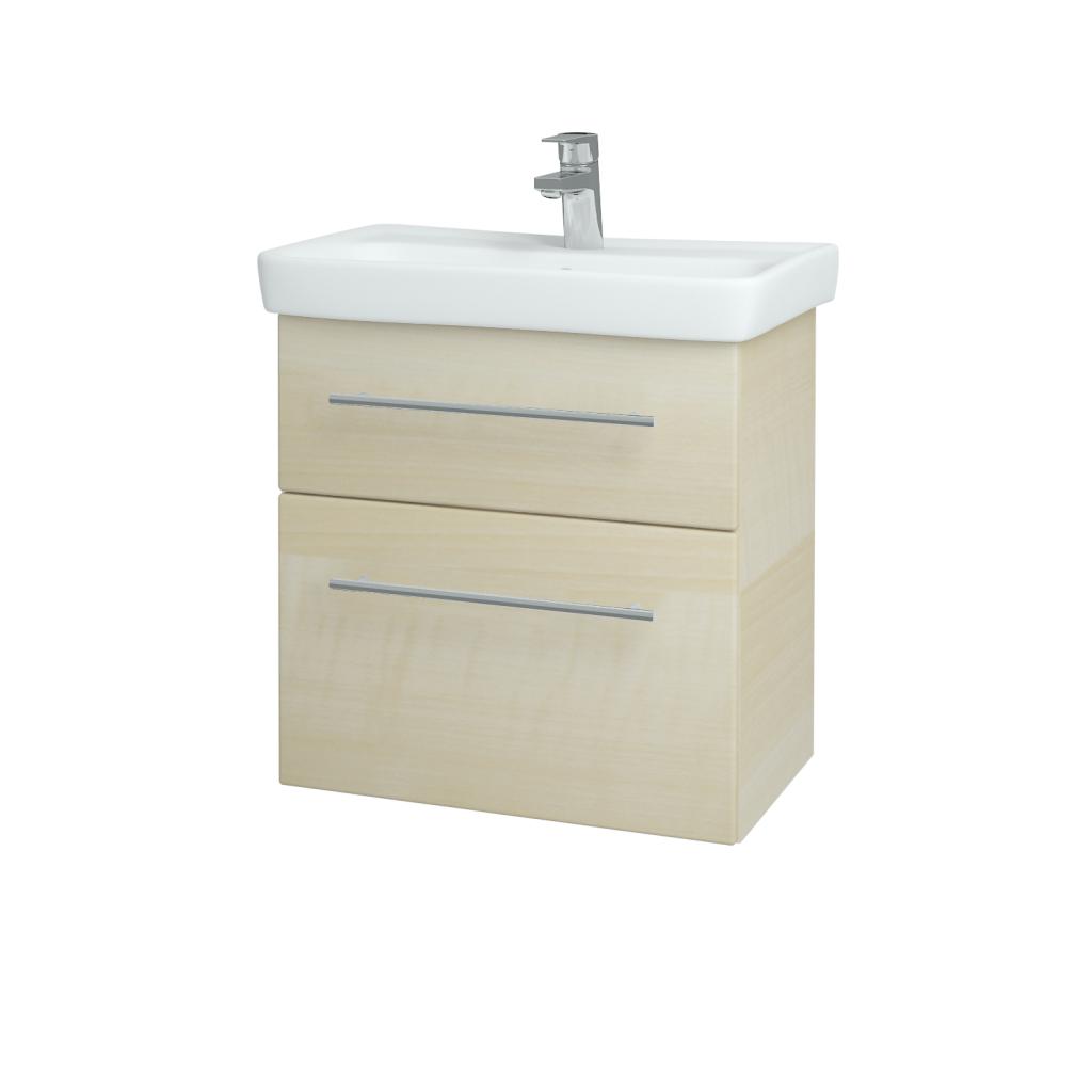 Dreja - Kúpeľňová skriňa GO SZZ2 60 - D02 Bříza / Úchytka T02 / D02 Bříza (28179B)