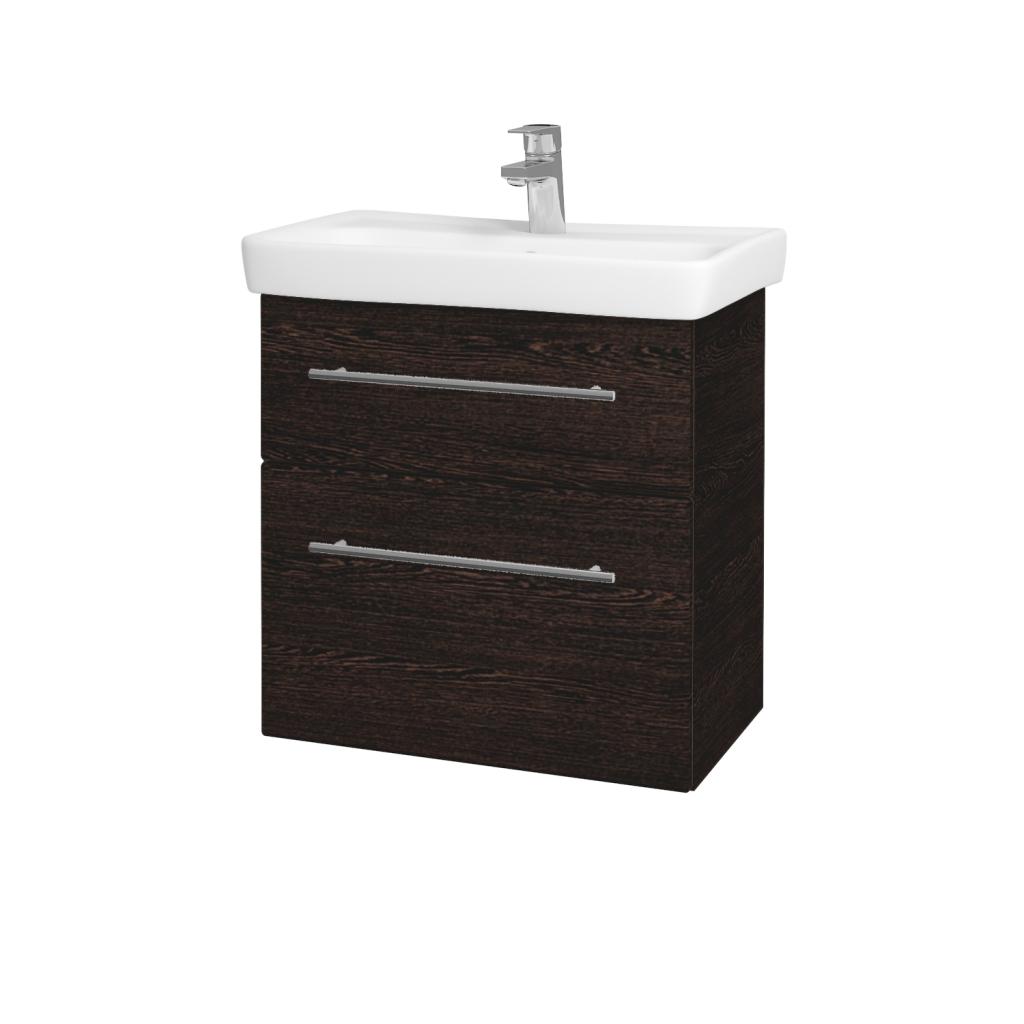Dreja - Kúpeľňová skriňa GO SZZ2 60 - D08 Wenge / Úchytka T02 / D08 Wenge (28209B)